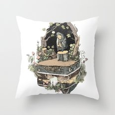 the priest Throw Pillow