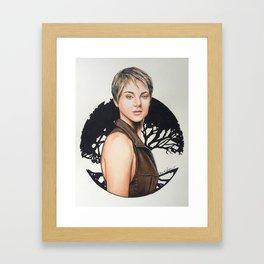 The Divergent Series: Insurgent - Tris | Drawing Framed Art Print