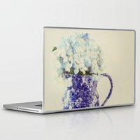 hydrangea Laptop & iPad Skins featuring Hydrangea by Beverly LeFevre
