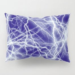 Electrical Lightning Sparks Pillow Sham