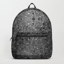 Deep grey glass mosaic Backpack