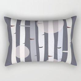 Birch Forest  #society6 #buyart #decor Rectangular Pillow