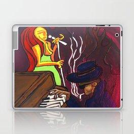 Gumbo night 18 Laptop & iPad Skin