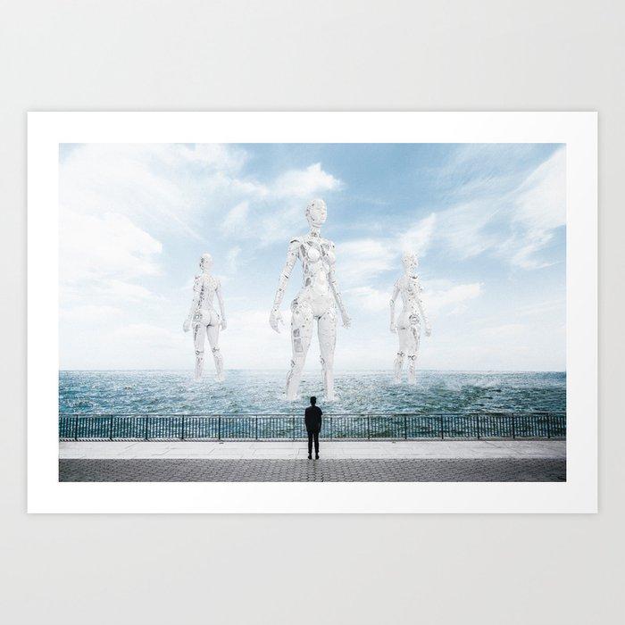 The Future is Bright #2 Kunstdrucke
