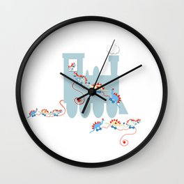 My Favorite Little Pull Toy Wall Clock