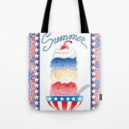 Summer Sundae Tote Bag