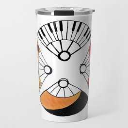 4 fire fans for any case Travel Mug