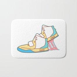 Sneakers Chewing Gum Bath Mat