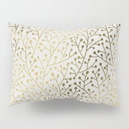 Gold Berry Branches Pillow Sham