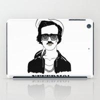 poe iPad Cases featuring Gangsta Poe by Sara Fox