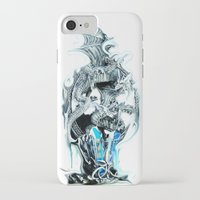 dragons iPhone & iPod Cases featuring dragons by Vector Art