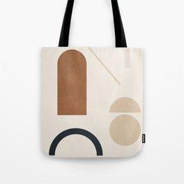 Geometric Modern Art 32 Tote Bag