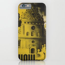 Classic Lwow voyage poster iPhone Case