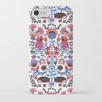 folk iPhone & iPod Cases featuring The Pug of Folk  by Huebucket