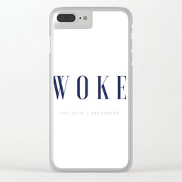 woke Clear iPhone Case