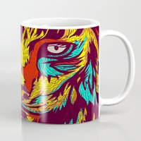 rare Mugs featuring BE RARE* - Iberic Lince by Vasco Vicente