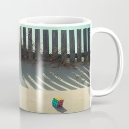 Rubik shading in the beach Coffee Mug