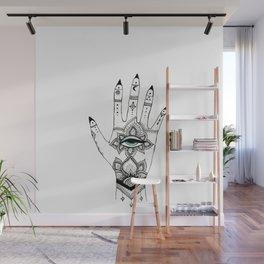 Hand of Fatima Wall Mural