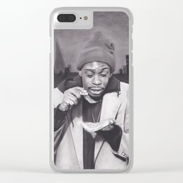 Tyrone Biggums, Dave Chappelle Clear iPhone Case