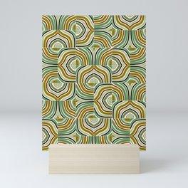 Jade Rainbow Mixed Tiles Mini Art Print