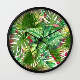 banana life 5 Wall Clock