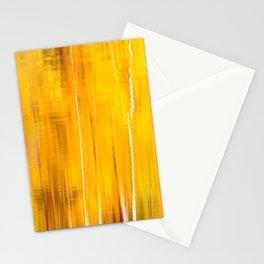 Autumn colors reflecting on the lake surface #decor #society6 #buyart Stationery Cards