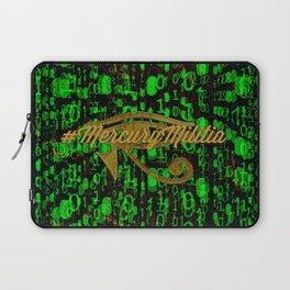 Mercury Militia Logo Laptop Sleeve