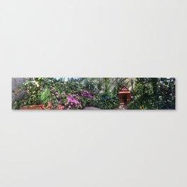 Vander Veer Conservatory Panoramic #5 Canvas Print
