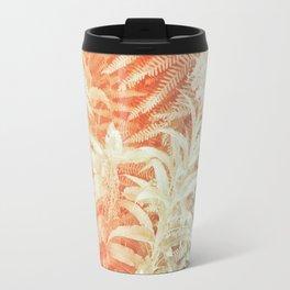 Fern and Fireweed 02 - Retro Travel Mug