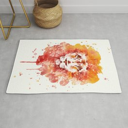 PRIDE (Water colour Lion) Rug