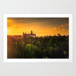 Ksoaz Castle Art Print