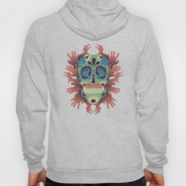 Skull and Hands Hoody