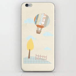 baloon collage iPhone Skin