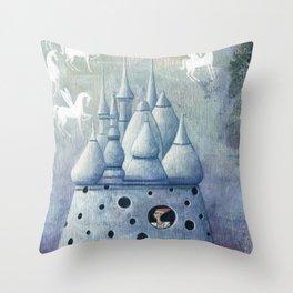 Magic Lantern Throw Pillow