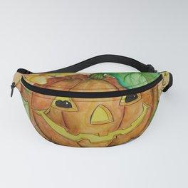 Halloween, Jack O'Lantern, Pumpkin, by Faye Fanny Pack