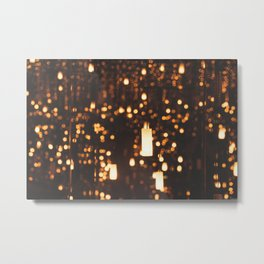 By Candlelight Metal Print