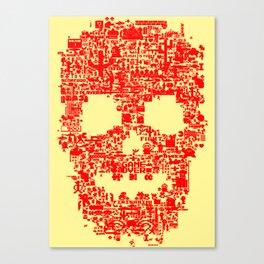 8-bitter Canvas Print