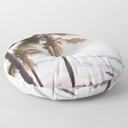 Beach Art Floor Pillow