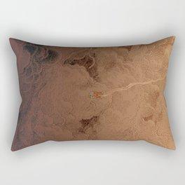 Chute dans Jupiter Rectangular Pillow