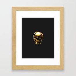 Heads up! Framed Art Print