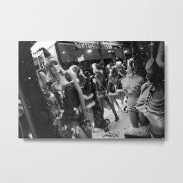 CHRISTMAS IN HOLLYWOOD - day eleven b&w Metal Print