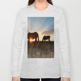 The Girls and a Dog Long Sleeve T-shirt