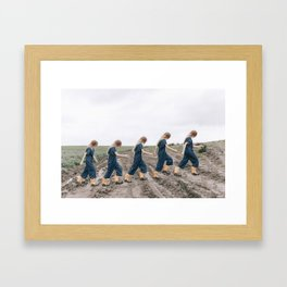 Uphill Framed Art Print