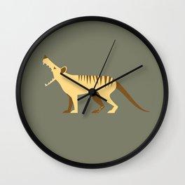 EXTINCT: Thylacine (Tasmanian Tiger) Wall Clock