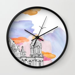Berlin Cathedral (Berliner Dom) daytime. Wall Clock