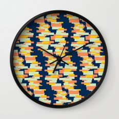 BP 62 Rectangle Stripes Wall Clock
