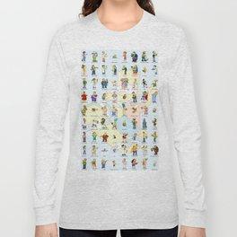 Springfield Characters Long Sleeve T-shirt