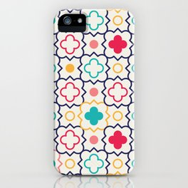Cute Eastern Pattern iPhone Case