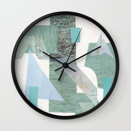 A Study in Blue Wall Clock