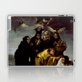 THE WITCHES SPELL - FRANCISCO GOYA Laptop & iPad Skin